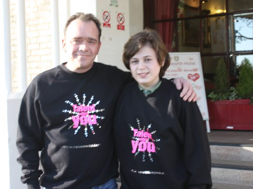 Todd Carty and Jack Ford