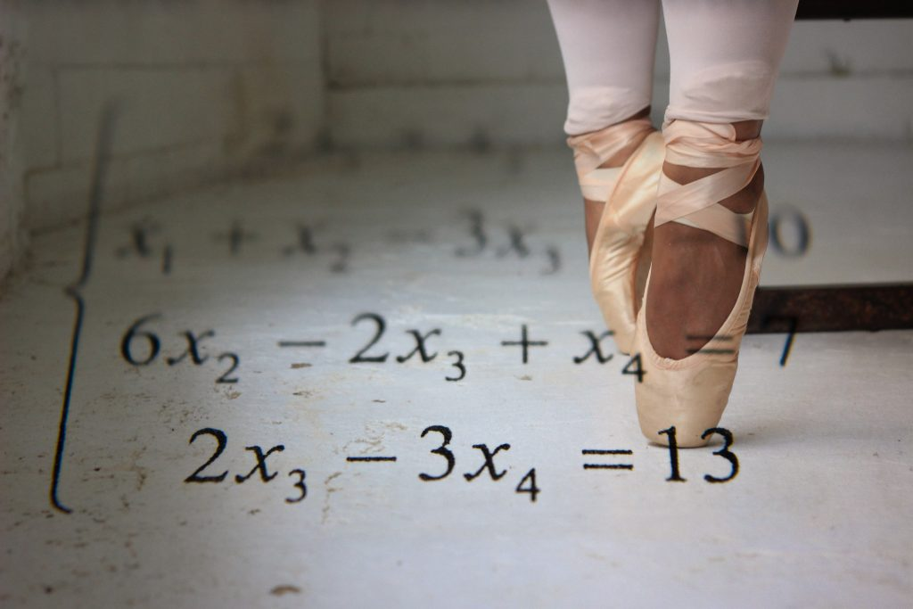 Ballet and maths - no boundaries
