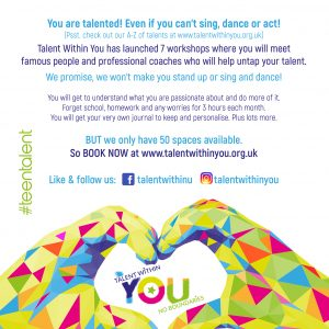 Talent Within You poster