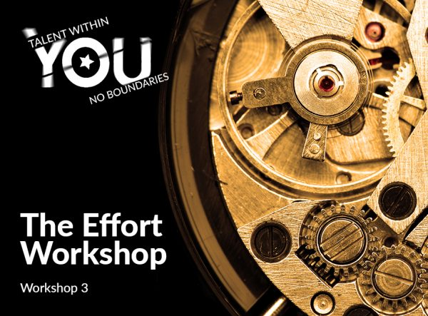 Effort workshop - Talent Within You